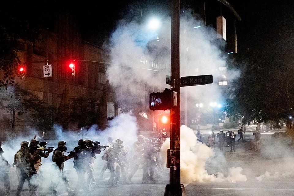 noah berger - protests